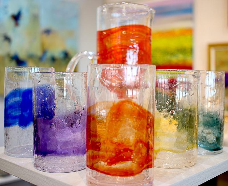 Gathered Glass