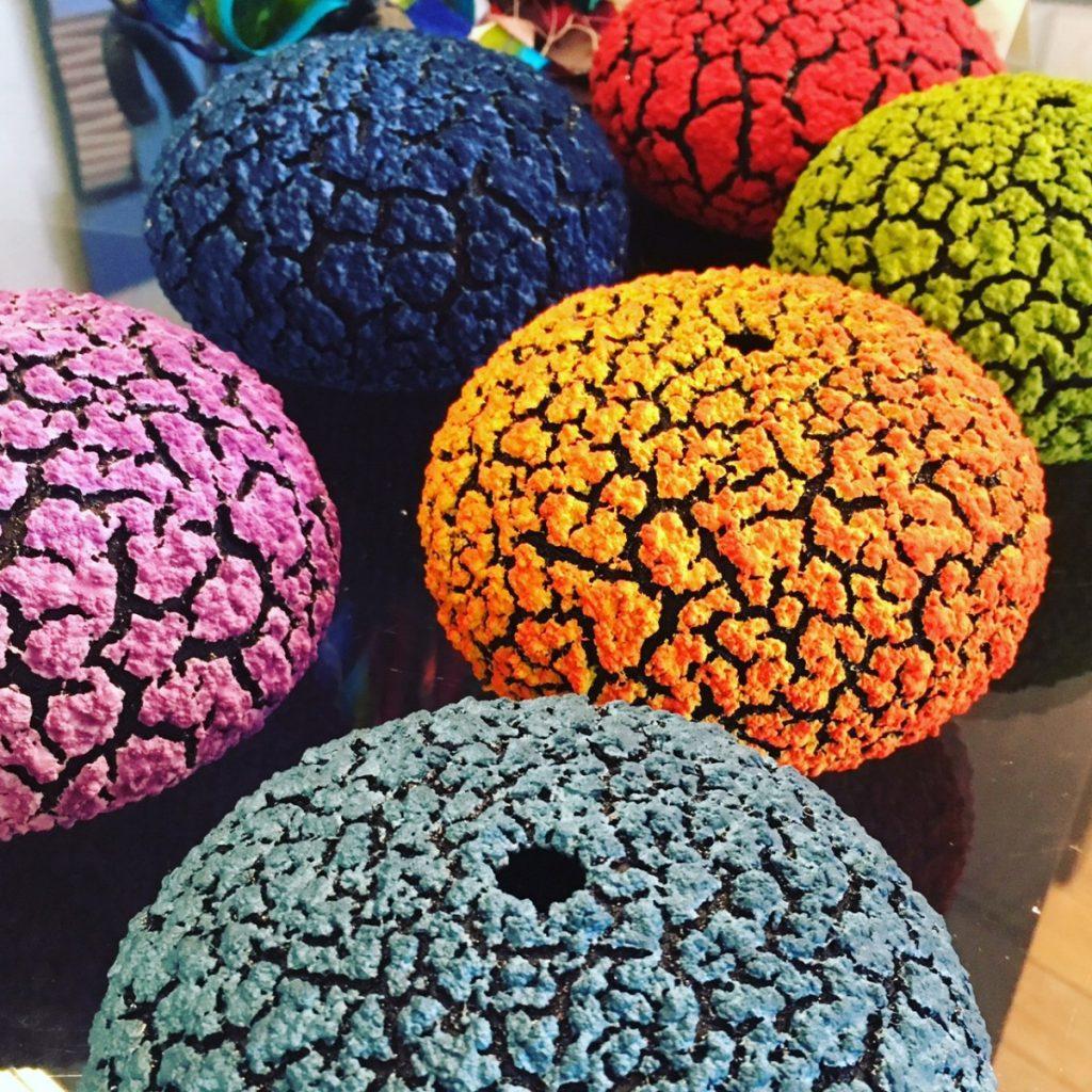 Urchin Vases ~ Multiple Colors ~ 5 each