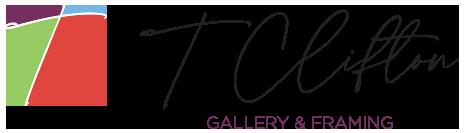T Clifton Gallery & Framing horizontal logo