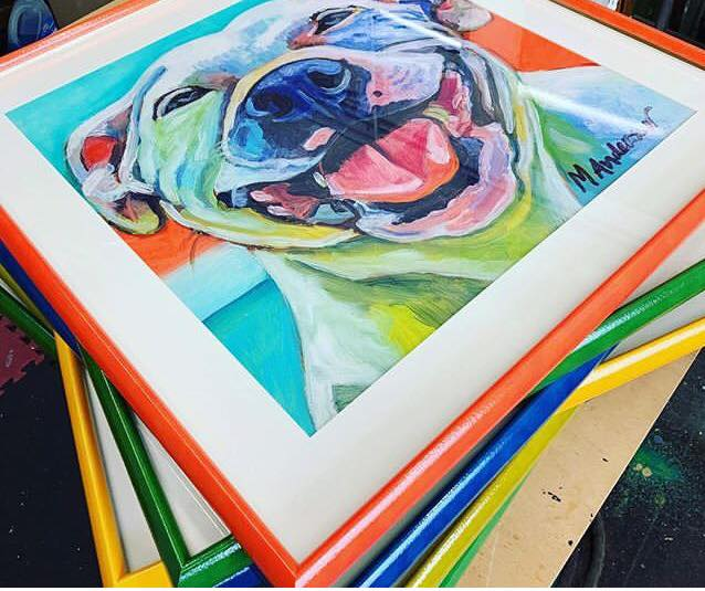customized art examples chosen by our corporate art consultants