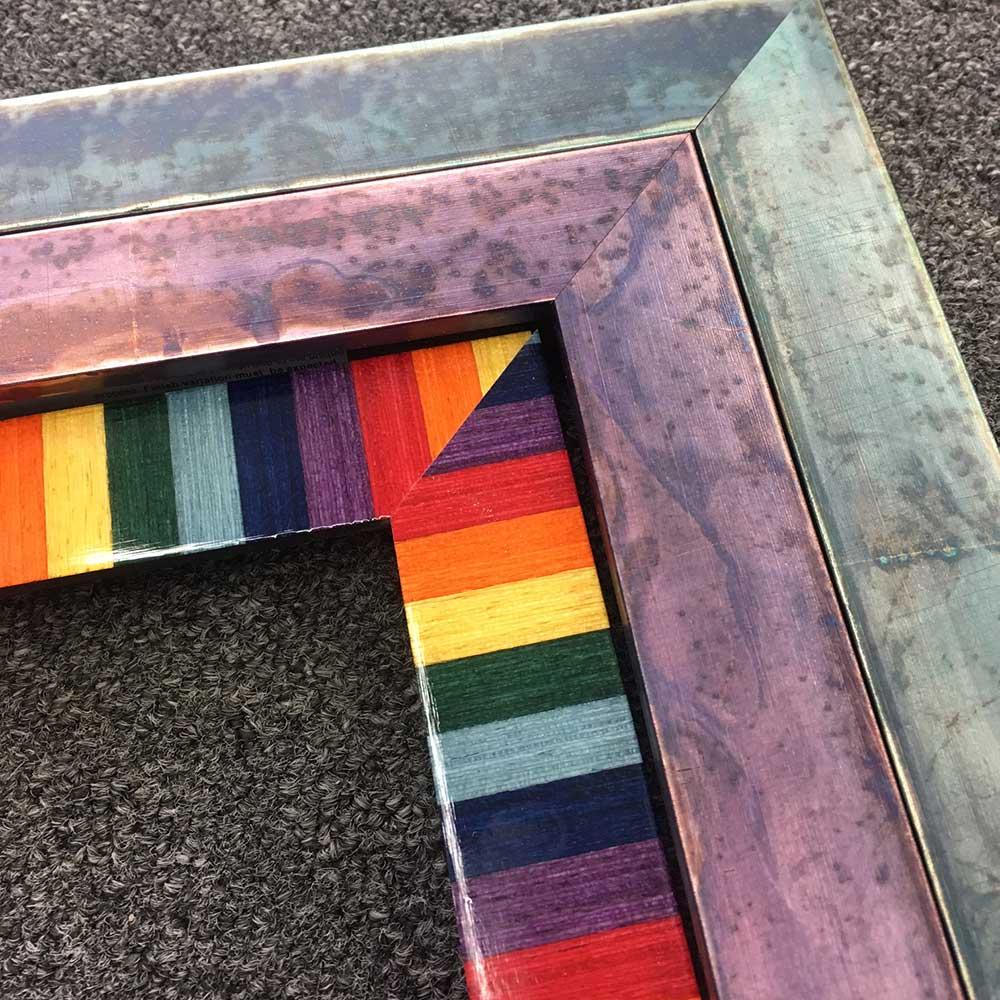 Colorful Custom Frame Moulding