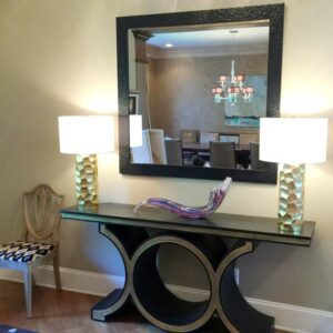 one of several custom mirrors we offer