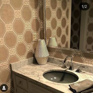 Custom Mirrors in a bathroom