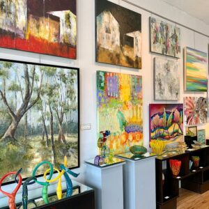 variety of artwork at T Clifton Gallery & Framing