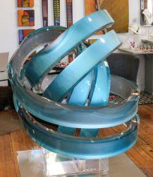 "Momentum | 21"" tall x 17"" diameter | $1750"