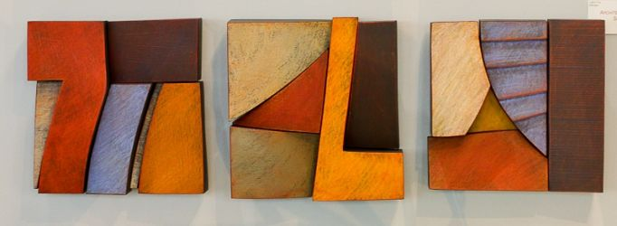 "Architectural Squares ~ 10"" square ~ $225 each"